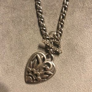 Brighton sacred heart toggle necklace & bracelet